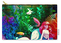 Underwater Wonderland Carry-all Pouch by Denise Fulmer