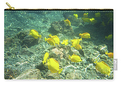 Underwater Yellow Tang Carry-all Pouch