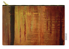 Carry-all Pouch featuring the painting Underwood by Valerie Anne Kelly