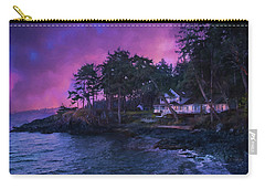 Carry-all Pouch featuring the photograph Undreamed Shores - Chesapeake Art by Jordan Blackstone