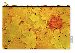 Carry-all Pouch featuring the photograph Understory by Tony Beck