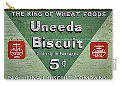 Uneeda Biscuit Vintage Sign Carry-all Pouch