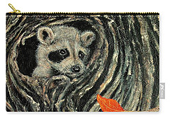 Unexpected Visitor Carry-all Pouch by Susan DeLain