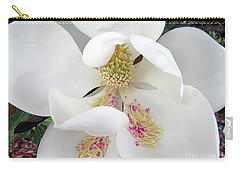 Unfolding Beauty Of Magnolia Carry-all Pouch