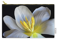 Unfolding Tulip. Carry-all Pouch by Terence Davis