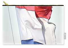 Carry-all Pouch featuring the photograph Unfurl 02 by Stephen Mitchell