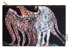 Unicorn And Phoenix Merge Paths Carry-all Pouch