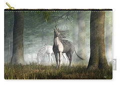 Unicorn Carry-all Pouch by Daniel Eskridge