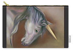 Unicorn With A Golden Horn Carry-all Pouch