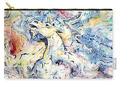 Unicorns And Rainbows  Carry-all Pouch