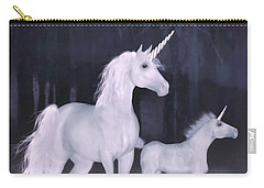 Unicorns In The Mist Carry-all Pouch