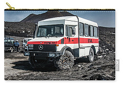 Unimog On Mt. Etna Carry-all Pouch by Patrick Boening