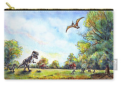 Uninvited Picnic Guests Carry-all Pouch