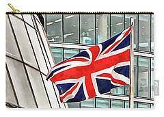 Union Jack Outside City Hall London Carry-all Pouch