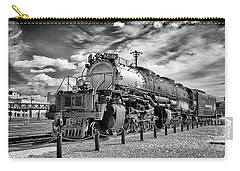 Carry-all Pouch featuring the photograph Union Pacific 4-8-8-4 Big Boy by Paul W Faust - Impressions of Light