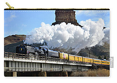Union Pacific Steam Engine 844 And Castle Rock Carry-all Pouch