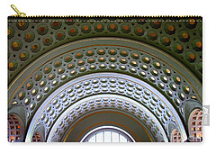 Union Station Ceiling 2 Carry-all Pouch by Randall Weidner