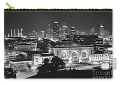 Union Station In Black And White Carry-all Pouch