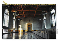 Carry-all Pouch featuring the photograph Union Station Los Angeles by Kyle Hanson