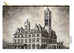 Union Station Mixed Media Carry-all Pouch