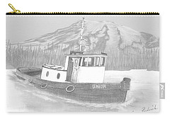 Tugboat Union Carry-all Pouch by Terry Frederick