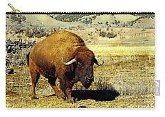 Unique Bull Buffalo II Carry-all Pouch