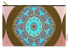 Carry-all Pouch featuring the digital art Unique Design. Holiday Collection by Oksana Semenchenko