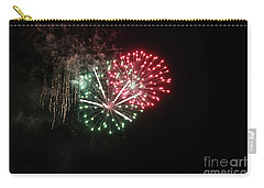Unique Firework Carry-all Pouch by Yumi Johnson