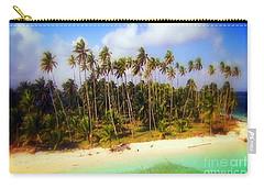 Unique Symbolic Island Art Photography Icon Zanzibar Sands Beaches Tourist Destination. Carry-all Pouch by Navin Joshi