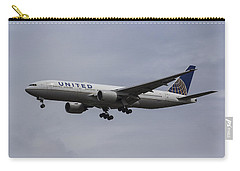 United Airlines Boeing 777 Carry-all Pouch