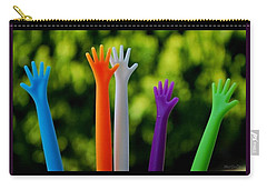 Carry-all Pouch featuring the photograph United  Colours by Marija Djedovic