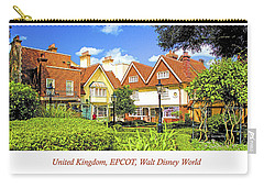 United Kingdom Buildings, Epcot, Walt Disney World Carry-all Pouch