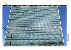 Carry-all Pouch featuring the photograph United Nations 3 by Randall Weidner
