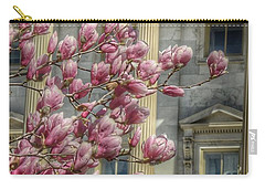 United States Capitol - Magnolia Tree Carry-all Pouch by Marianna Mills
