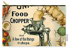 Universal Food Chopper 1897 Carry-all Pouch by Padre Art