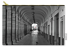 Carry-all Pouch featuring the photograph Universal Sign by David Chandler