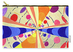 Carry-all Pouch featuring the drawing Universals by Kim Sy Ok