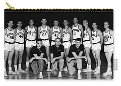 University Of Michigan Basketball Team 1960-61 Carry-all Pouch by Mountain Dreams