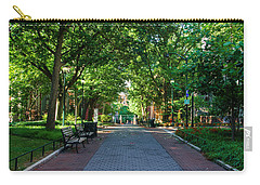 Carry-all Pouch featuring the photograph University Of Pennsylvania Campus - Philadelphia by Bill Cannon