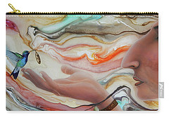 Universo Maya Carry-all Pouch by Angel Ortiz