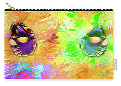 Carry-all Pouch featuring the digital art Unmasked by John Haldane