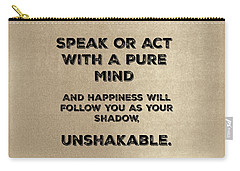 Unshakable Carry-all Pouch