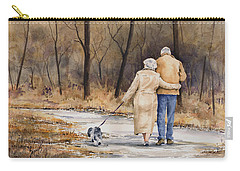 Unspoken Love Carry-all Pouch by Sam Sidders