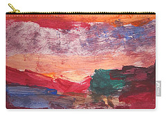 untitled 109 Original Painting Carry-all Pouch