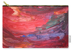 untitled 110 Original Painting Carry-all Pouch