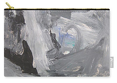 Untitled 124 Original Painting Carry-all Pouch