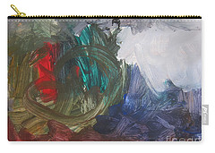 Untitled #60  Original Painting Carry-all Pouch