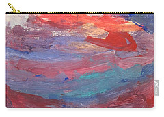 Untitled 96 Original Painting Carry-all Pouch