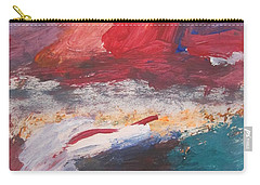 Untitled 98 Original Painting Carry-all Pouch