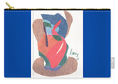 Untitled Abstract Carry-all Pouch by Rod Ismay